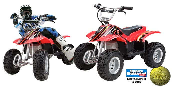 Kelley blue book for used cars motocycles for Motorized 4 wheeler for toddlers