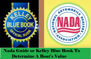NADA or Kelley Blue Book Boat value